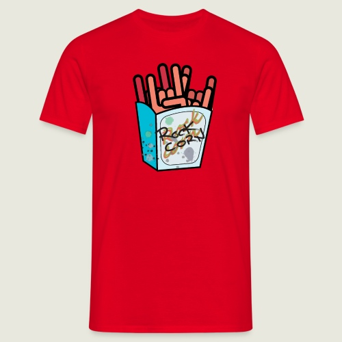 rockcorn - Maglietta da uomo