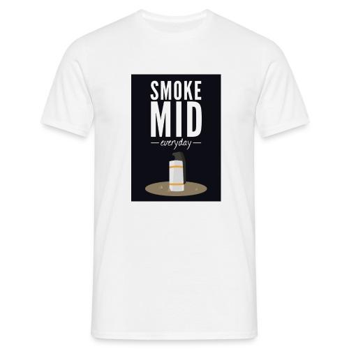 smoke mid - Mannen T-shirt