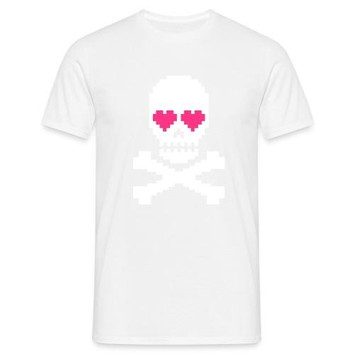 Skull Love - Mannen T-shirt