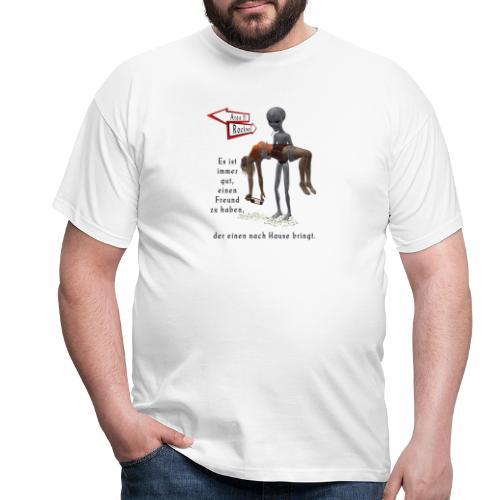 Grey Alien - Männer T-Shirt