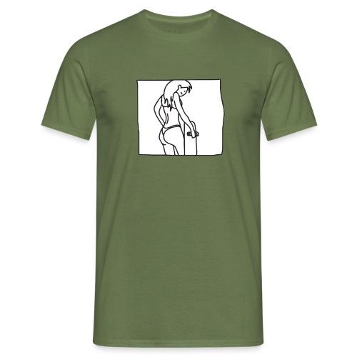 Skate Fitgurl - Mannen T-shirt