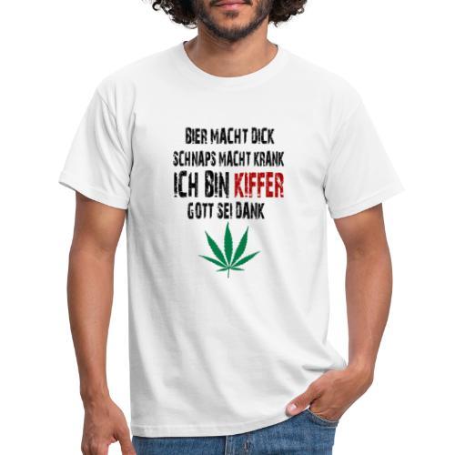 Ich bin Kiffer - Männer T-Shirt