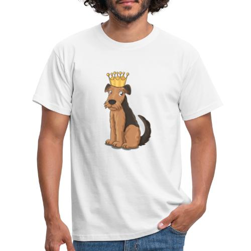 The KING of Terriers - Men's T-Shirt