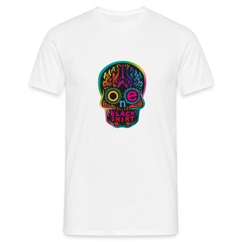OBS Skull rainbow gif - Männer T-Shirt