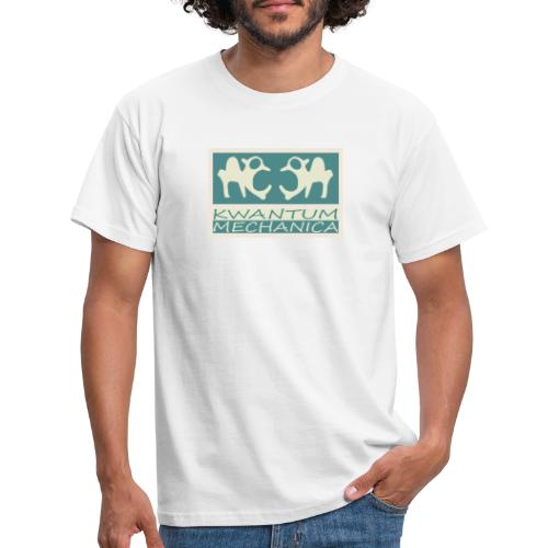 Kwantum logo 2 - Mannen T-shirt