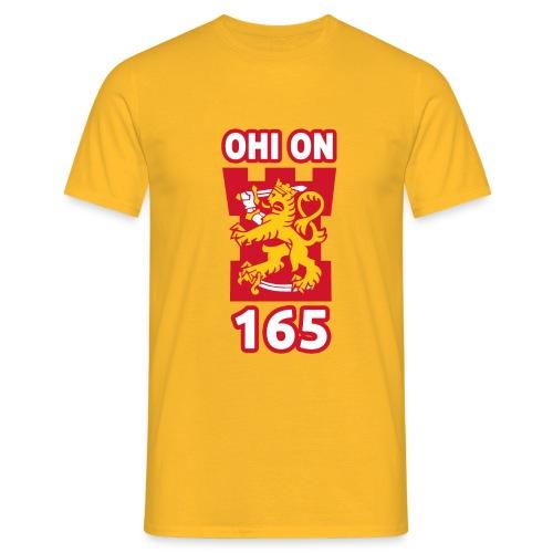 ohi on 165 tornilogo - Miesten t-paita