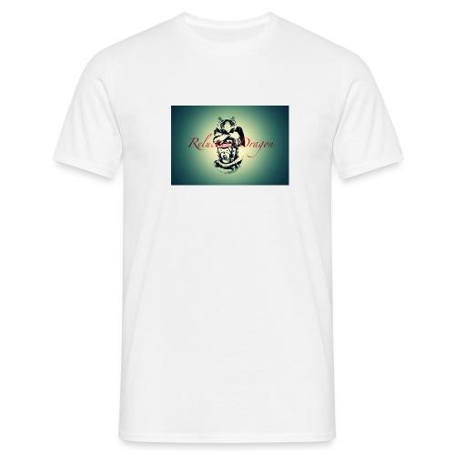 Reluctant Dragon Design - Men's T-Shirt
