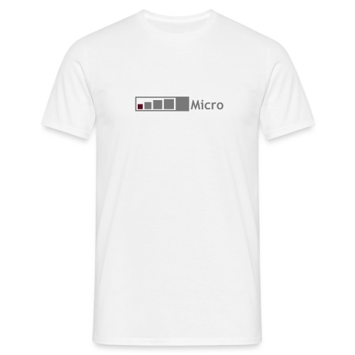 Geocaching Micro - Männer T-Shirt