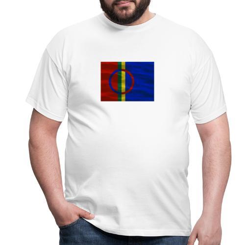 Sapmi flag - T-skjorte for menn