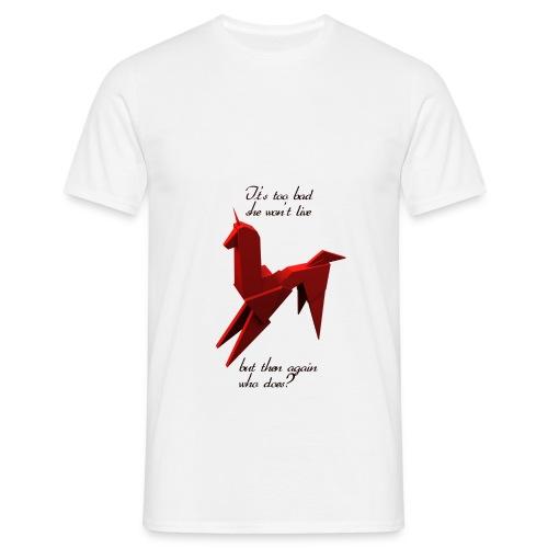 UnicornioBR - Camiseta hombre