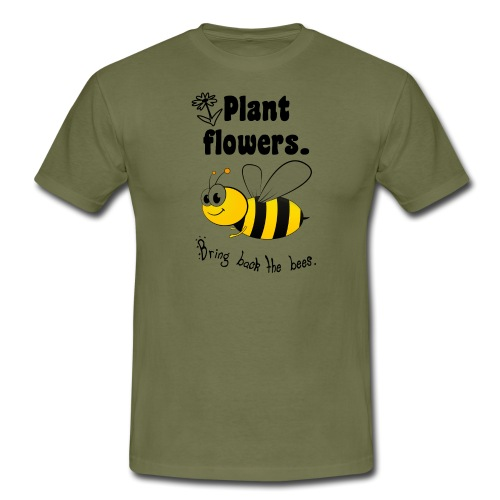 Bees8 - Bring the bees back! | Book Rebels - Men's T-Shirt