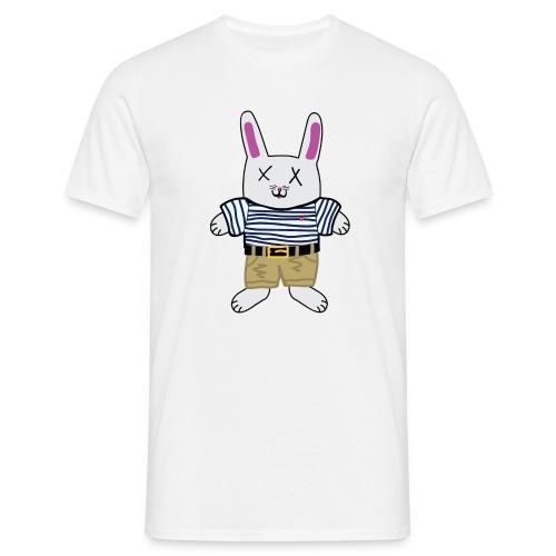 Roadkill-Bunny - T-shirt herr