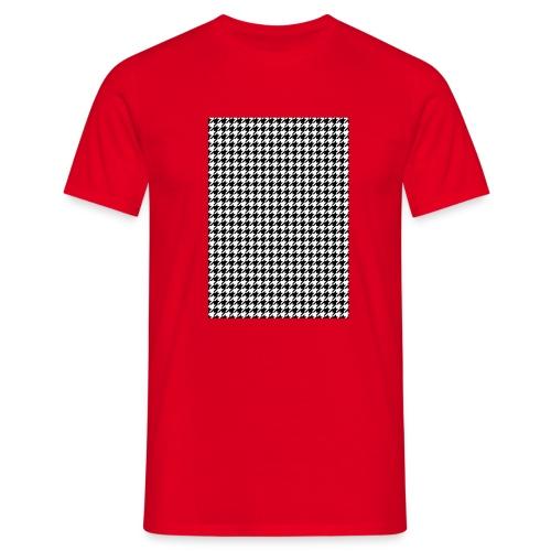 pied de poule v12 final01 - Mannen T-shirt