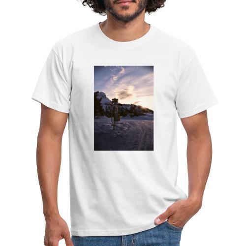 snow2 - Maglietta da uomo