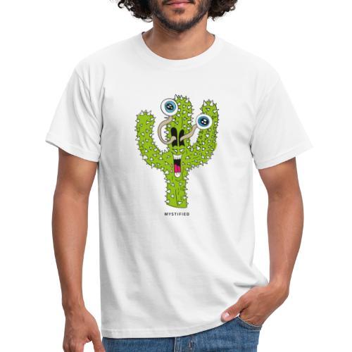 Mystified Cactus - Mannen T-shirt