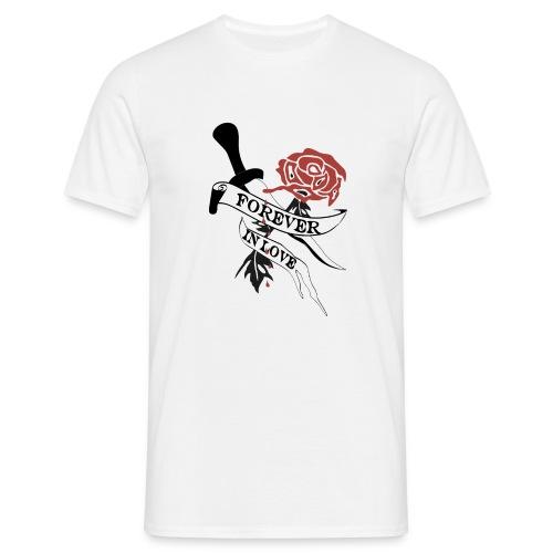 Forever in Love - Männer T-Shirt