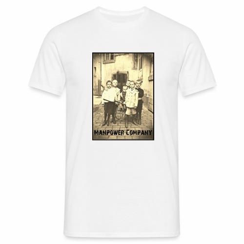 Manpower Company - Männer T-Shirt