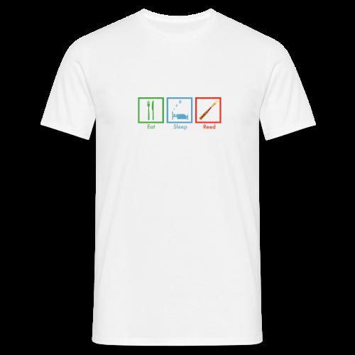 reed reed reed - Männer T-Shirt