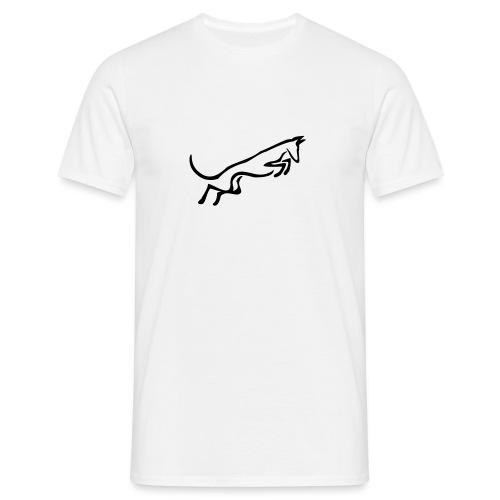 Podenco springt - Männer T-Shirt