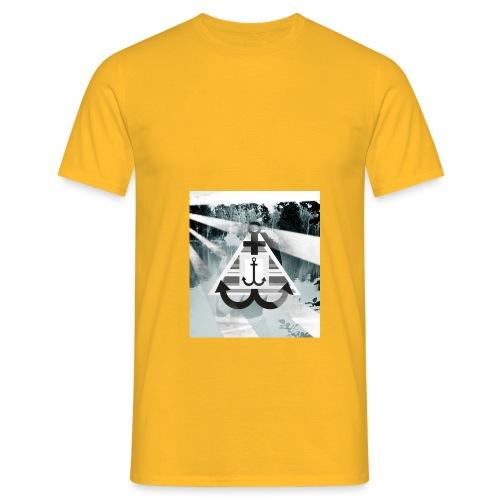 See-Anker - Männer T-Shirt