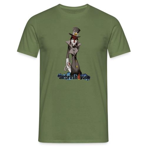 AirbrushDealer - Männer T-Shirt