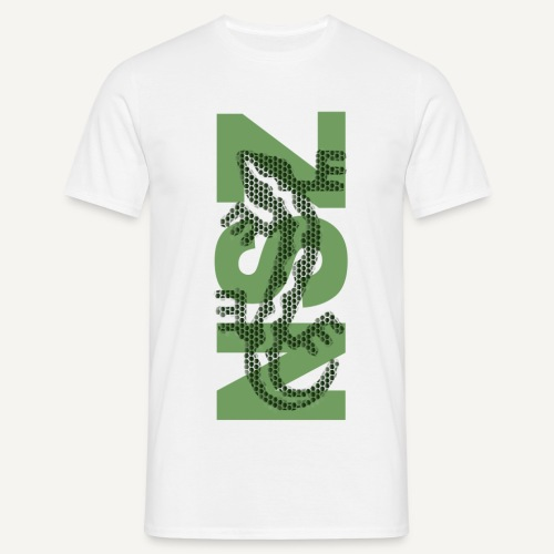 koszulka nsz jaszczurka z - Koszulka męska