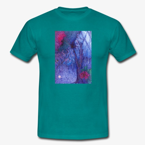 Forest Flower - Koszulka męska