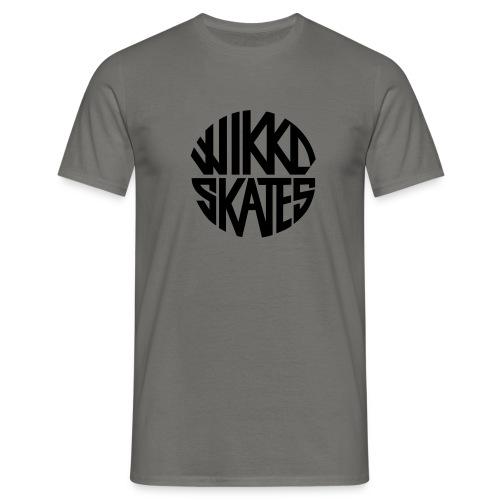 wikkoskates logo vektori - Men's T-Shirt