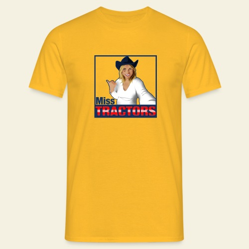 Miss Tractors Logo - Maglietta da uomo