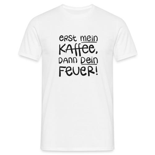 Tassentext - Männer T-Shirt