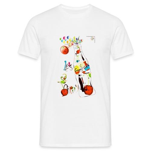cola cherry 05 - Maglietta da uomo