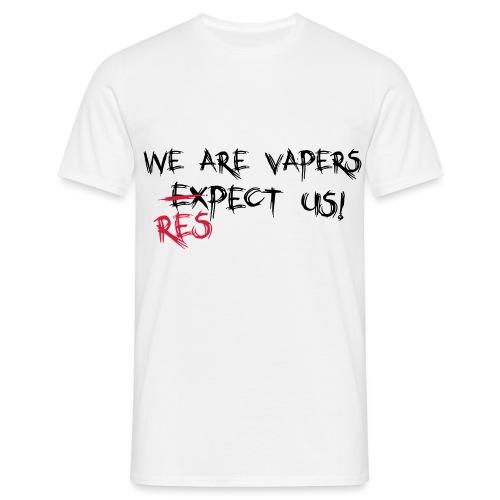 Expect us - Männer T-Shirt