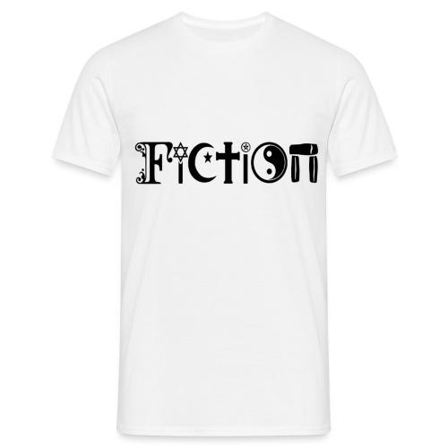 Fiction Schwarz - Männer T-Shirt