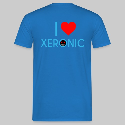 I Love Xeronic | for men - Men's T-Shirt