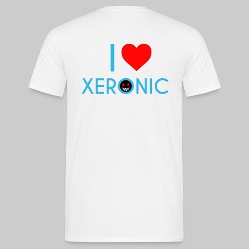 I Love Xeronic   for men - Men's T-Shirt