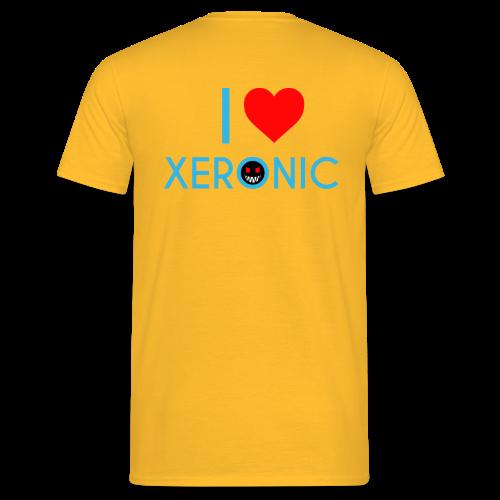 I Love Xeronic | for men - Men's T-Shirt