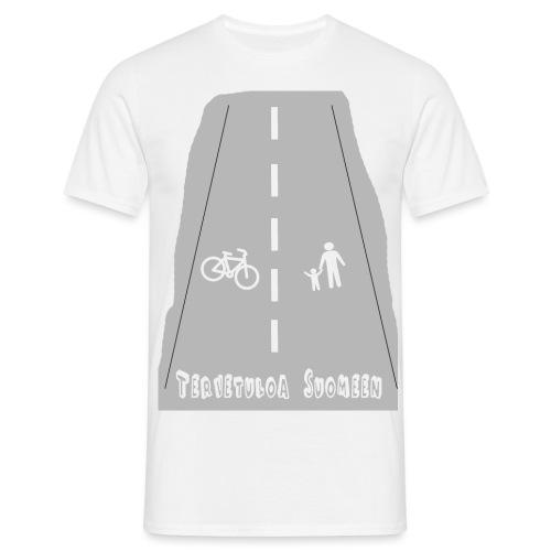 Tervetuloa Suomeen - Miesten t-paita