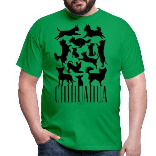 Chihuahua Black - Miesten t-paita