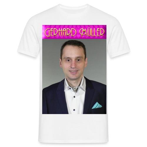 Foto und Logo von Gerhard Müller - Männer T-Shirt