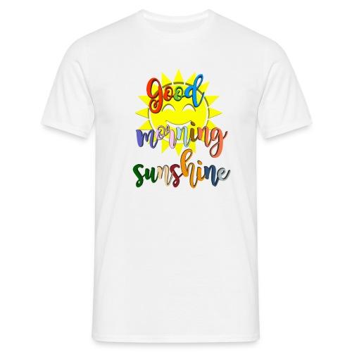 Good morning ,Good morning sticker - T-skjorte for menn