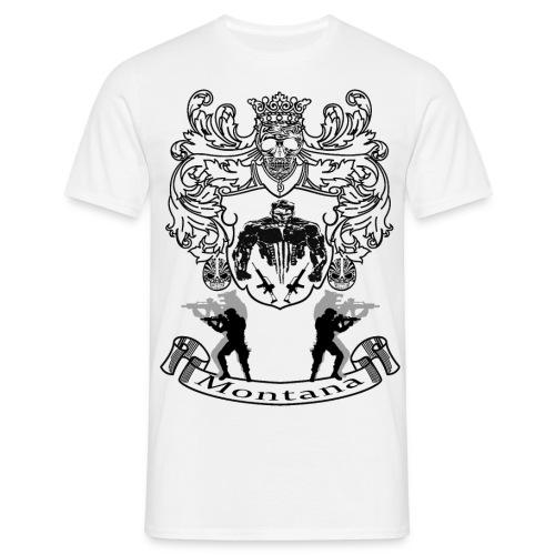Montana Wappen - Männer T-Shirt