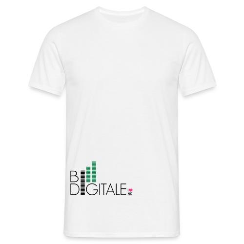 logo bidigital negativ - Männer T-Shirt