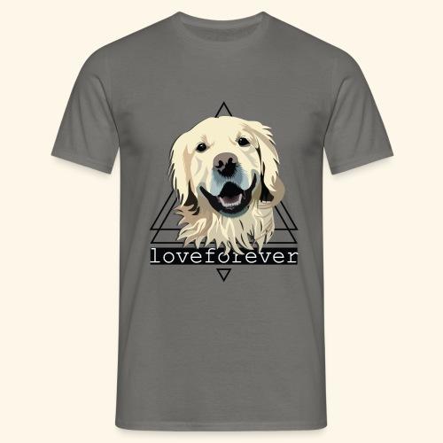 RETRIEVER LOVE FOREVER - Camiseta hombre