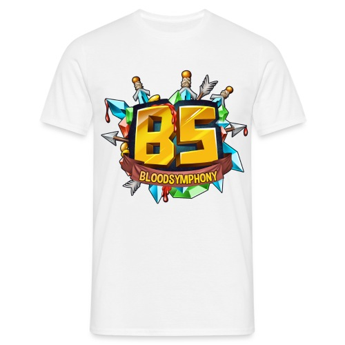 BS Logo2 2 png - T-shirt Homme