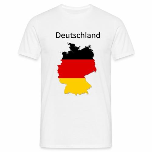 Deutschland Karte - Männer T-Shirt