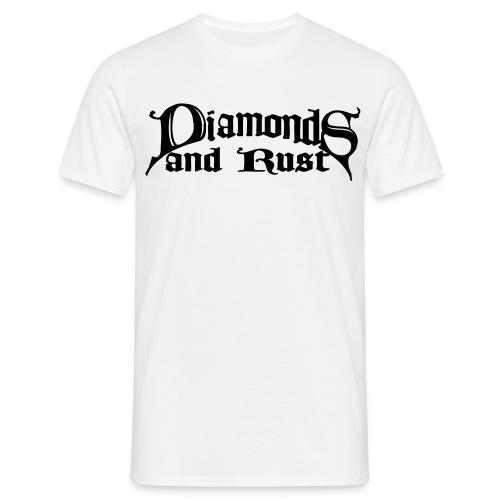 logo schwarz 1c - Männer T-Shirt