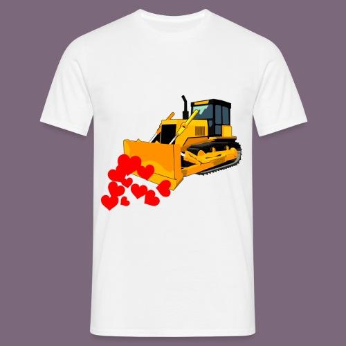 Rakkauden puskutraktori - Miesten t-paita