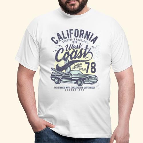 California-West-Coast - Men's T-Shirt