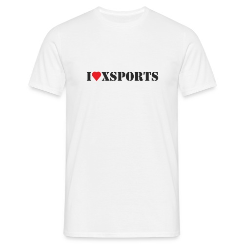I love Xsports - T-shirt Homme