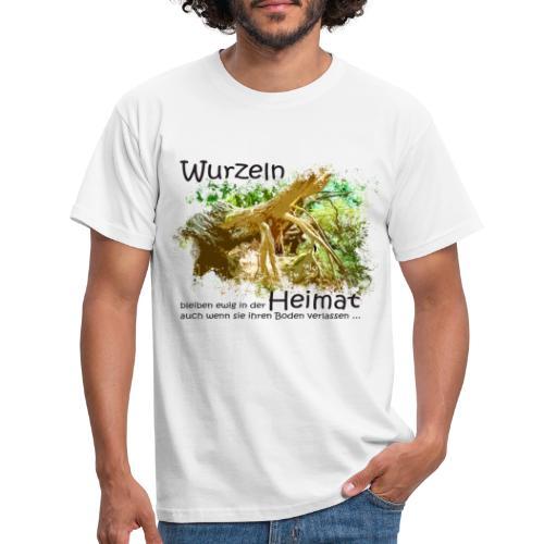 Wurzeln bleiben - Männer T-Shirt